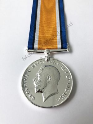 Full size WW1 British War Medal Replacement Copy